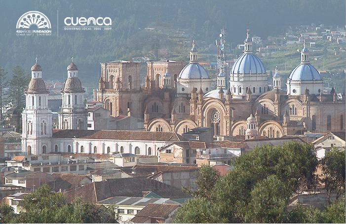 Cuenca is a UNESCO World Herritage site - complete with a cell tower.
