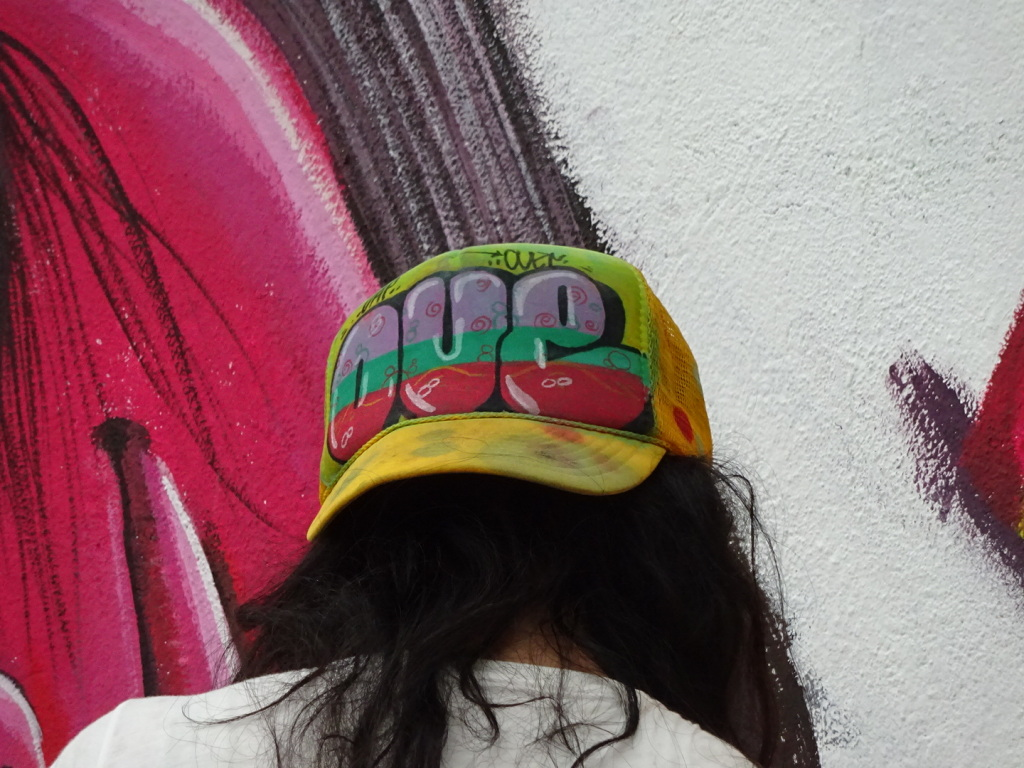 If you're going to do cool painting, you better have a cool hat!