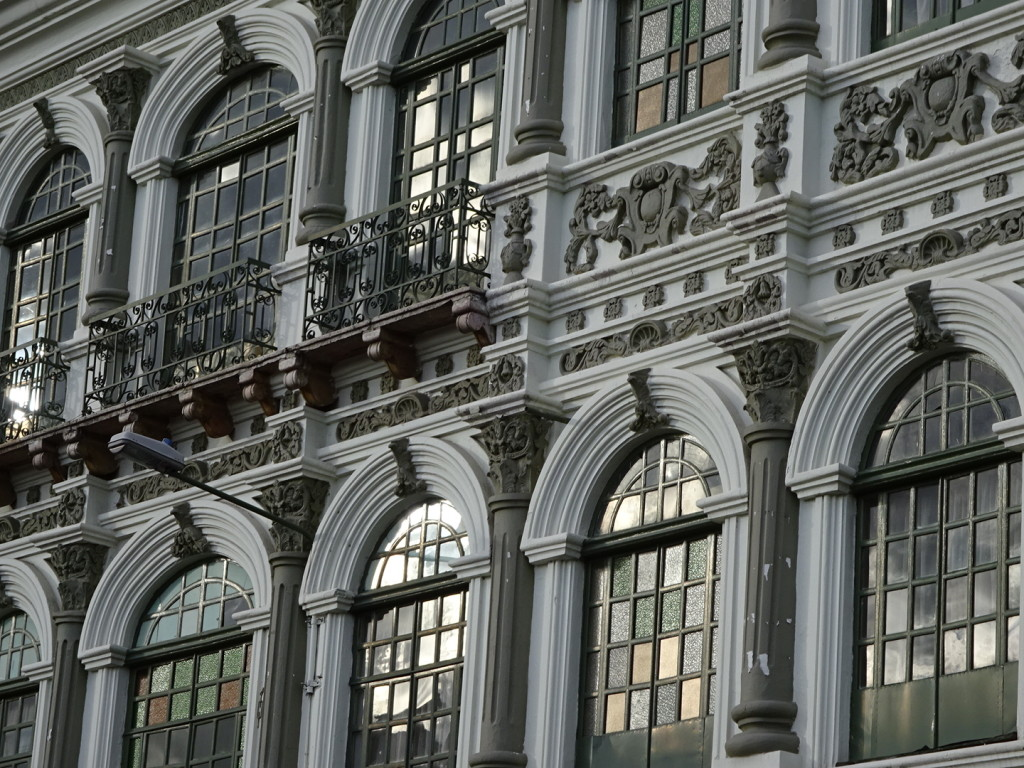 Crazy-ornate facades