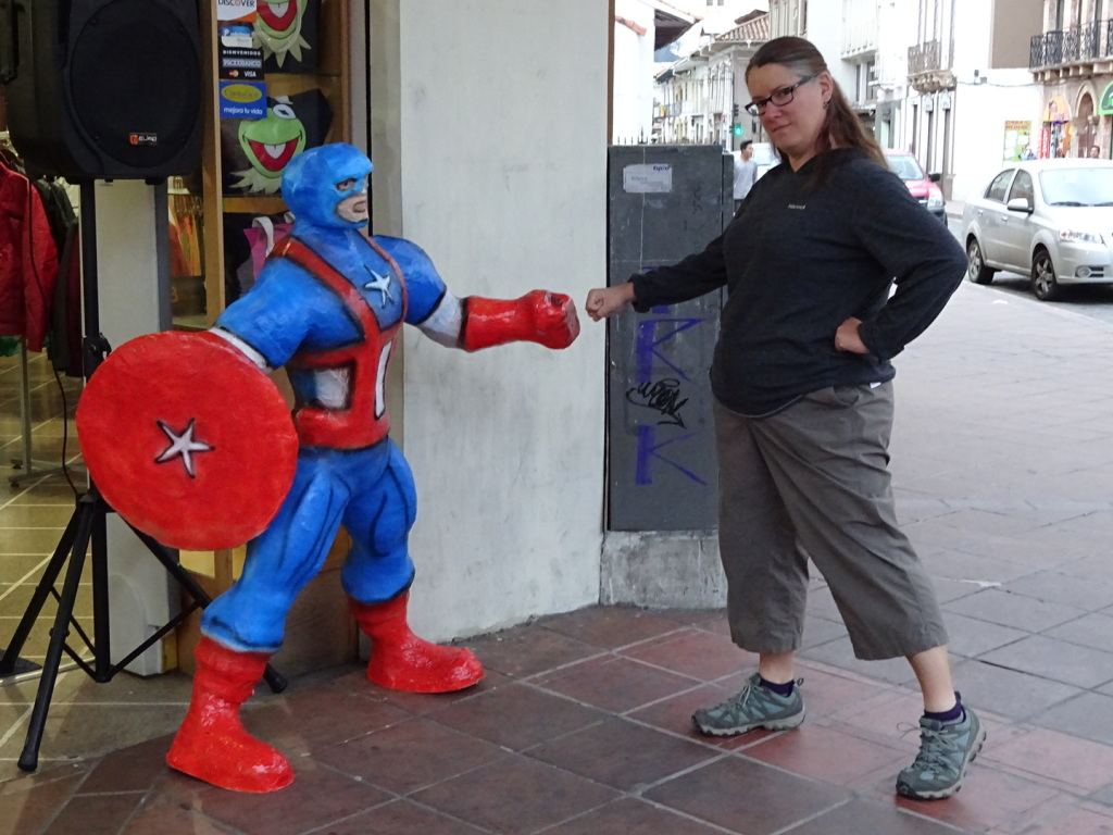 Why anyone would burn Captain America or Batman, we are not sure. We love these guys!