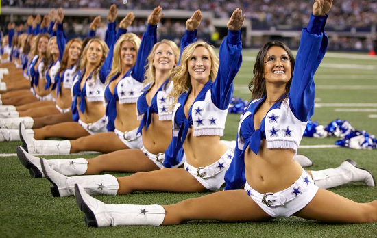 If anyone knows about the hard work it takes to make dreams a reality, it's the Dallas Cowboys Cheerleaders!