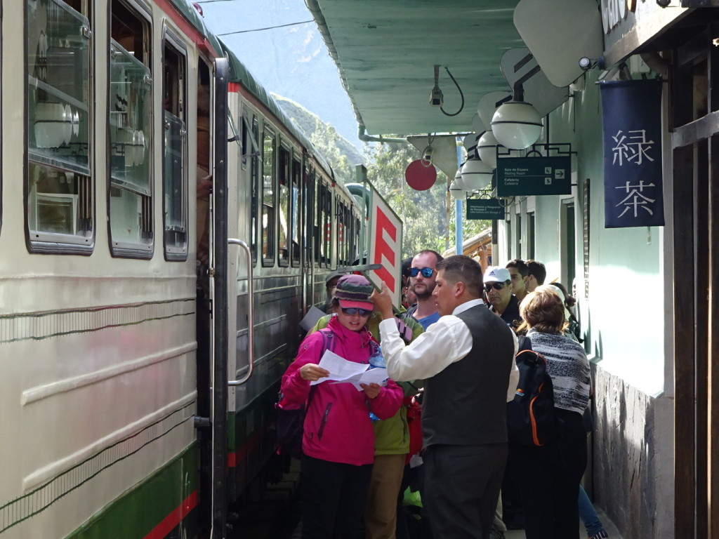The train to Aqua Callienta!!