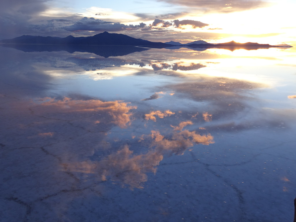 Mirror mirror on the ...salt flat