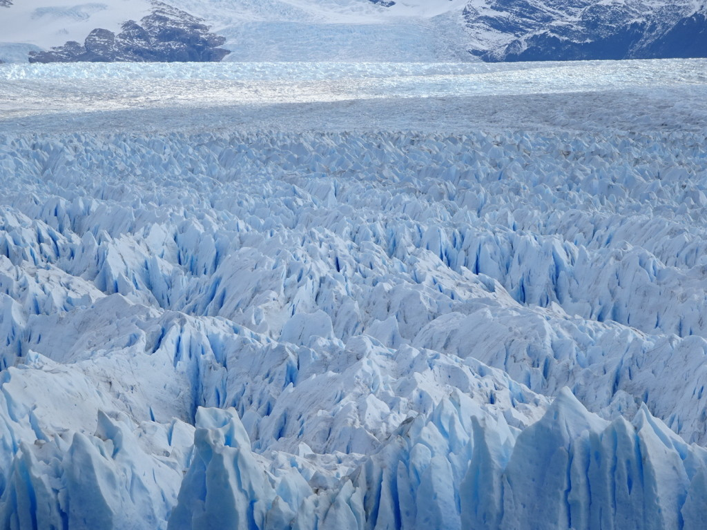 Perito Moreno has some really cool texture