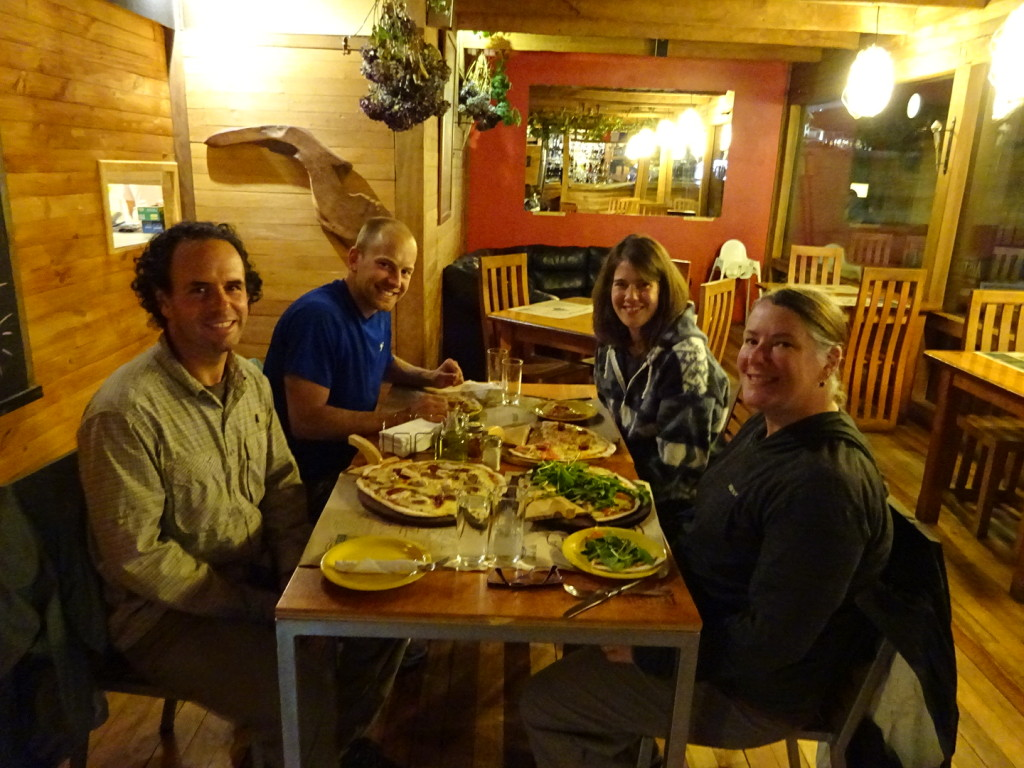 Dinner with our pals the Moens. We are joining them in Buenas Aires in a couple of weeks.