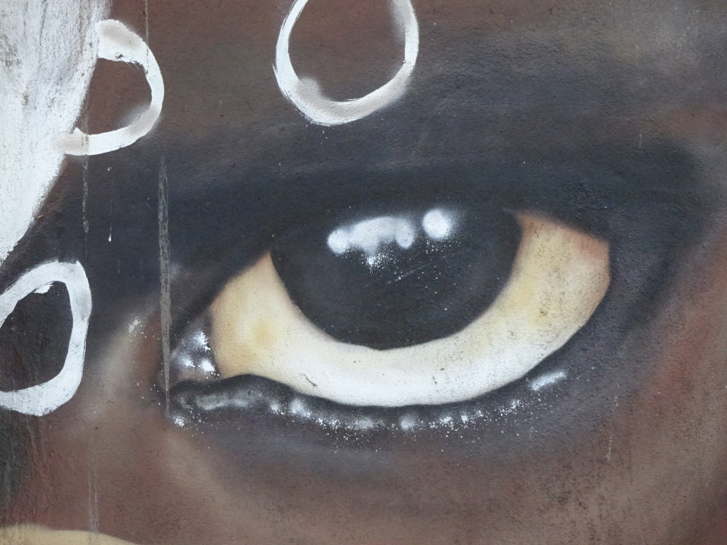 The eyes were incredible! All with aerosols...