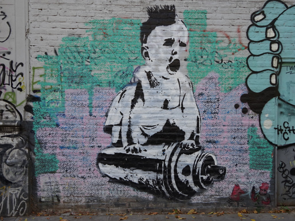 What could be more iconic to end things with than a punk baby on a spray can???