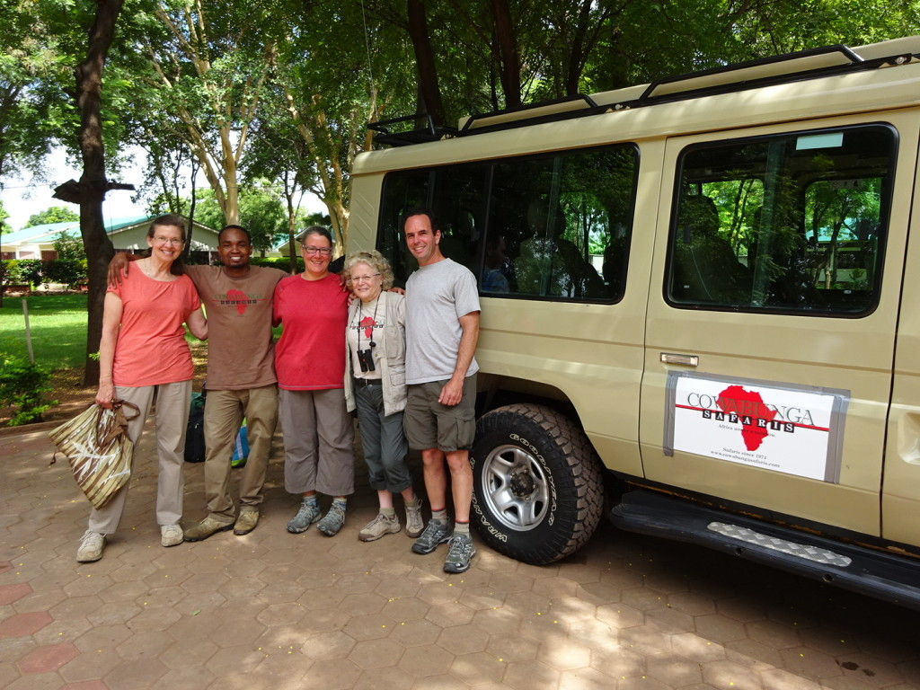 Our Land Rover - Val, Vincent, Anner, Casey and Aaron