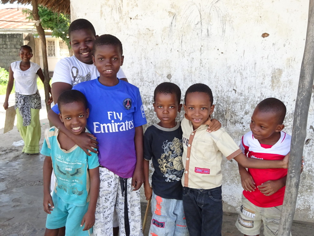 Yet, more cute kids. These called me over and asked for photos (David interpreted for us).