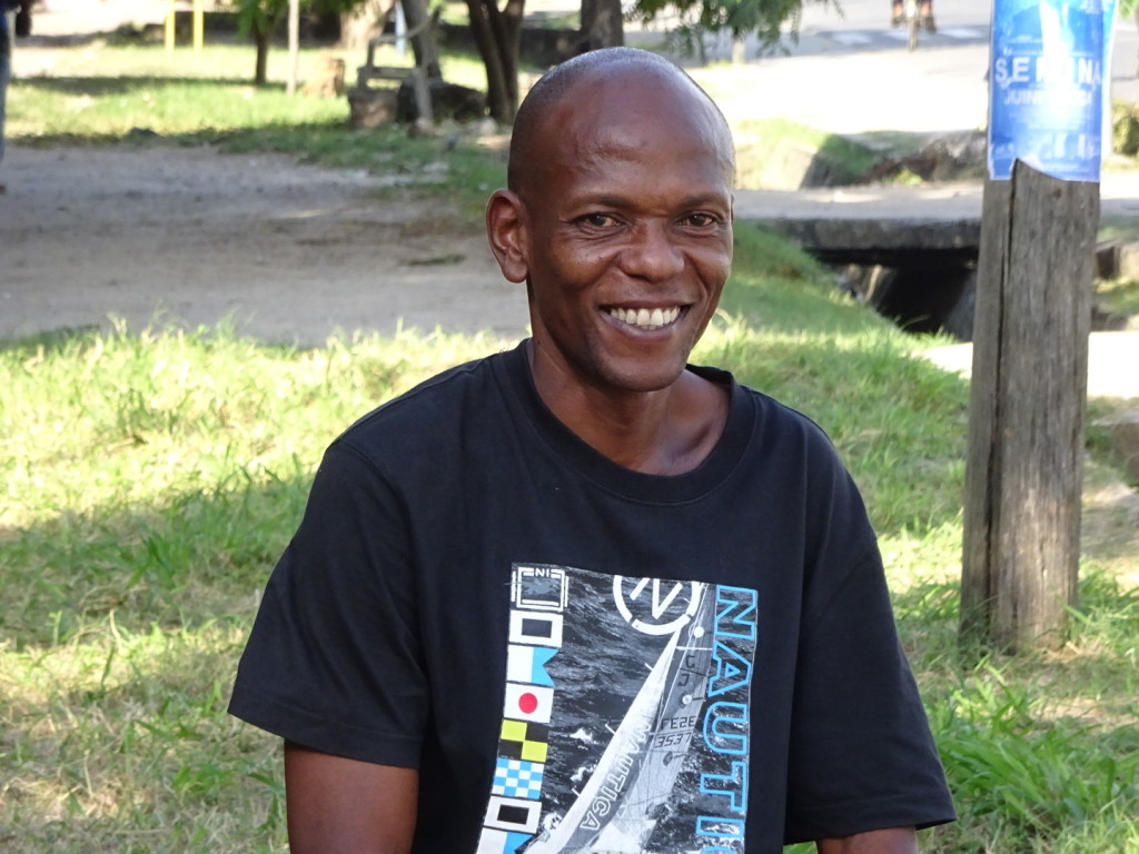Our most spectacular guide: David Mhando!