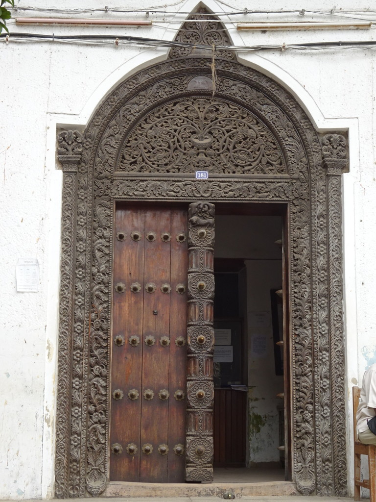 This was the entrance door to a museum, if I remember right.