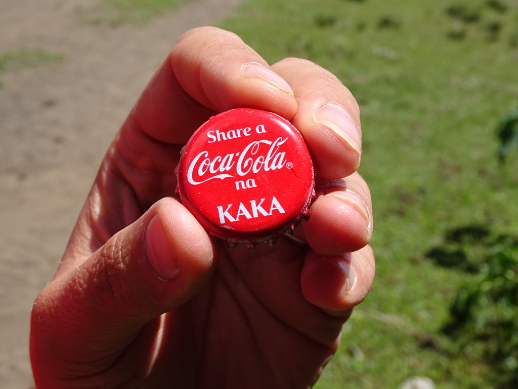 """Just for Ben and Morgan because we KNOW you will love seeing the word """"Kaka"""" in print. In Swahili is means """"brother"""" and since you're brothers you should have a Coke with your Kaka."""