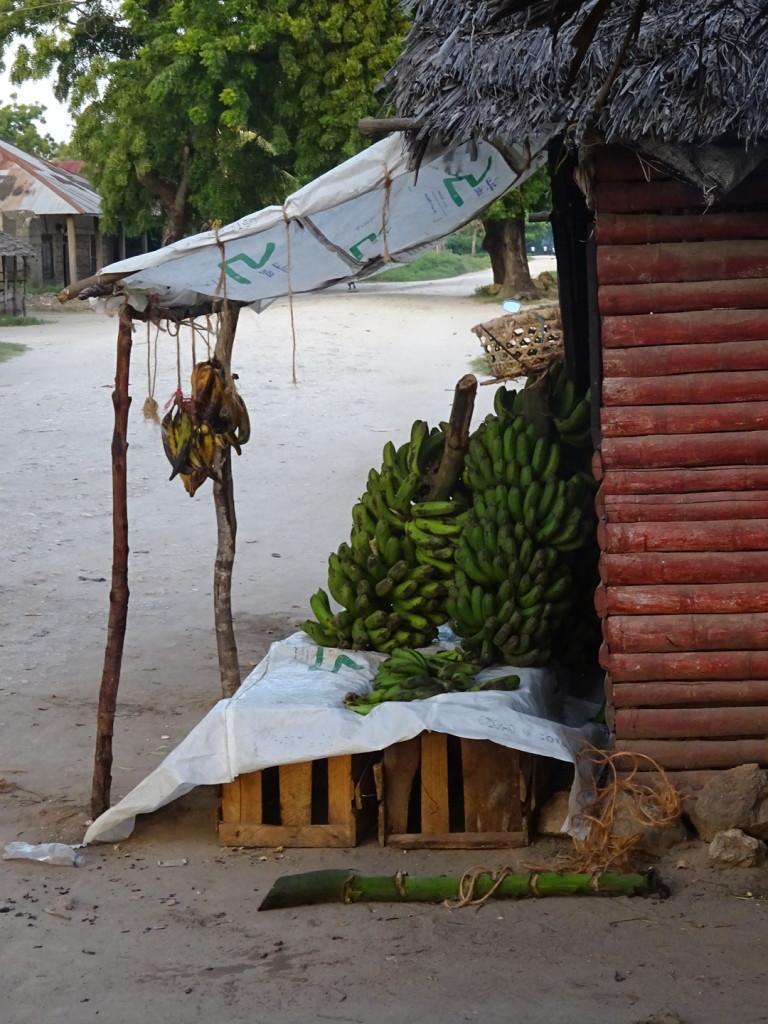 A market stand.