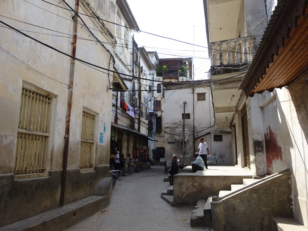 Typical Stone Town road.