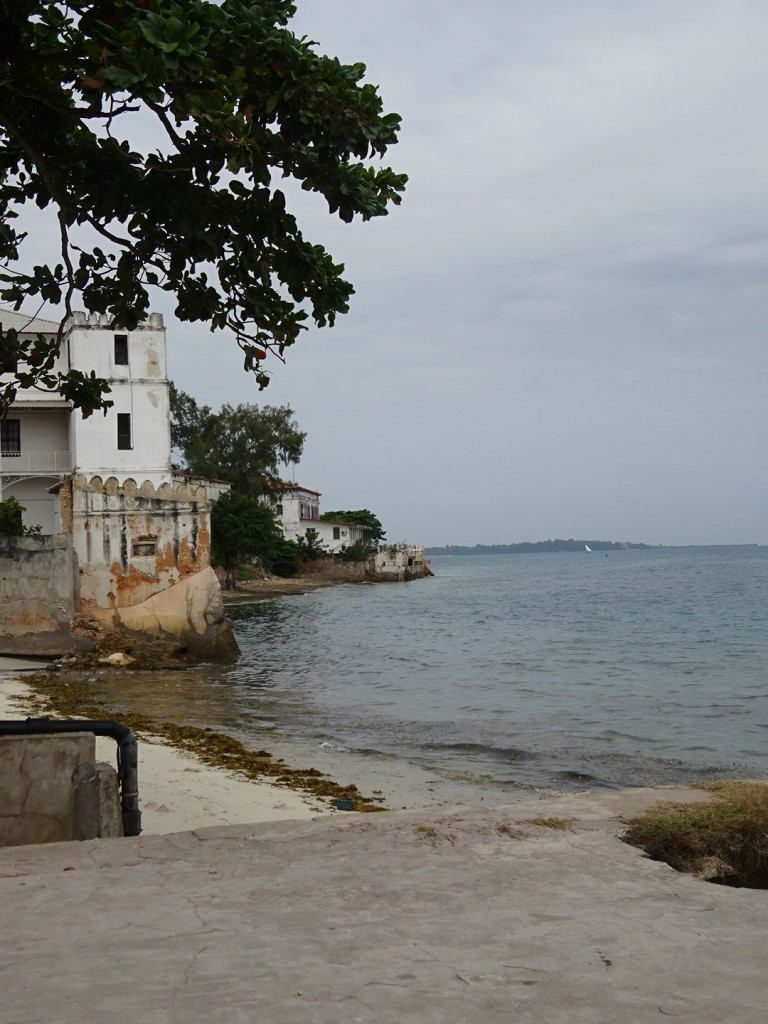 The beach in Stone Town.