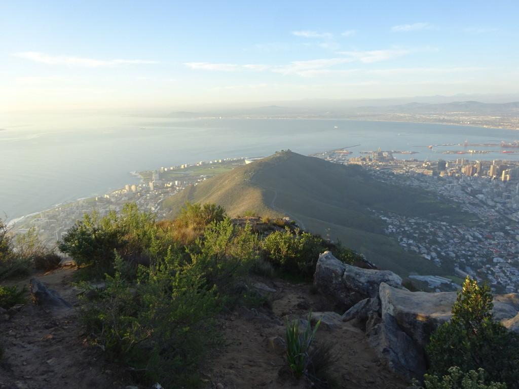 The view from Lion's Head. Hello Cape Town!