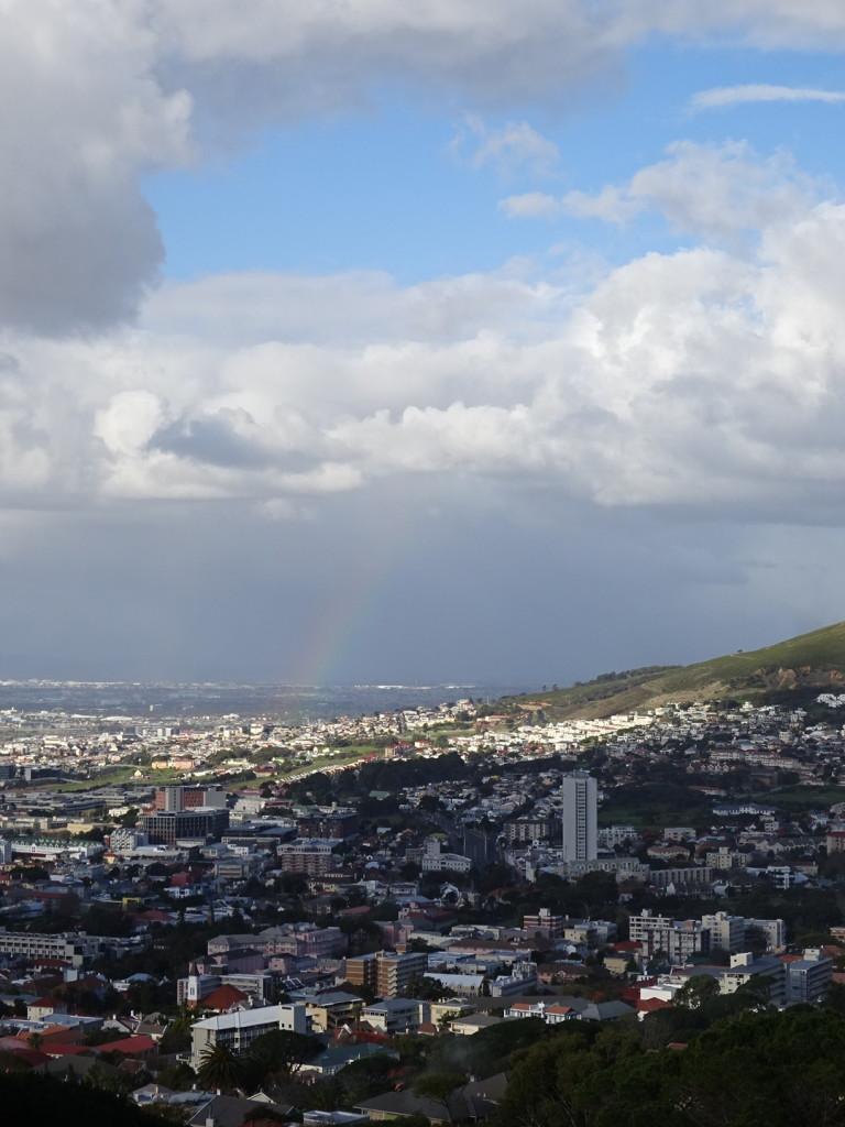 Rainbow over Cape Town