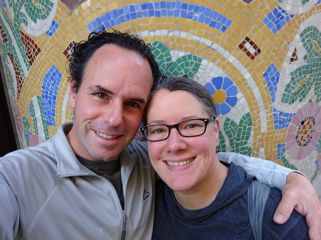 Happy Thanksgiving from the land of mosaics and Gaudi!