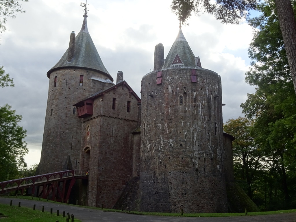 Castell Coch up close and personal.