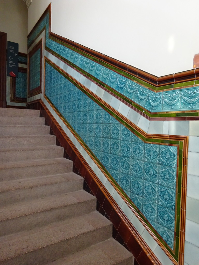 More beautiful tile work.