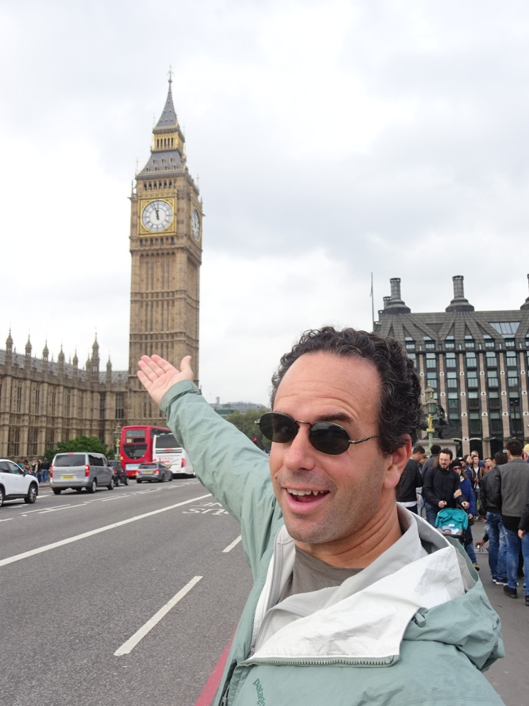 Look kids. Big Ben, Parliament...