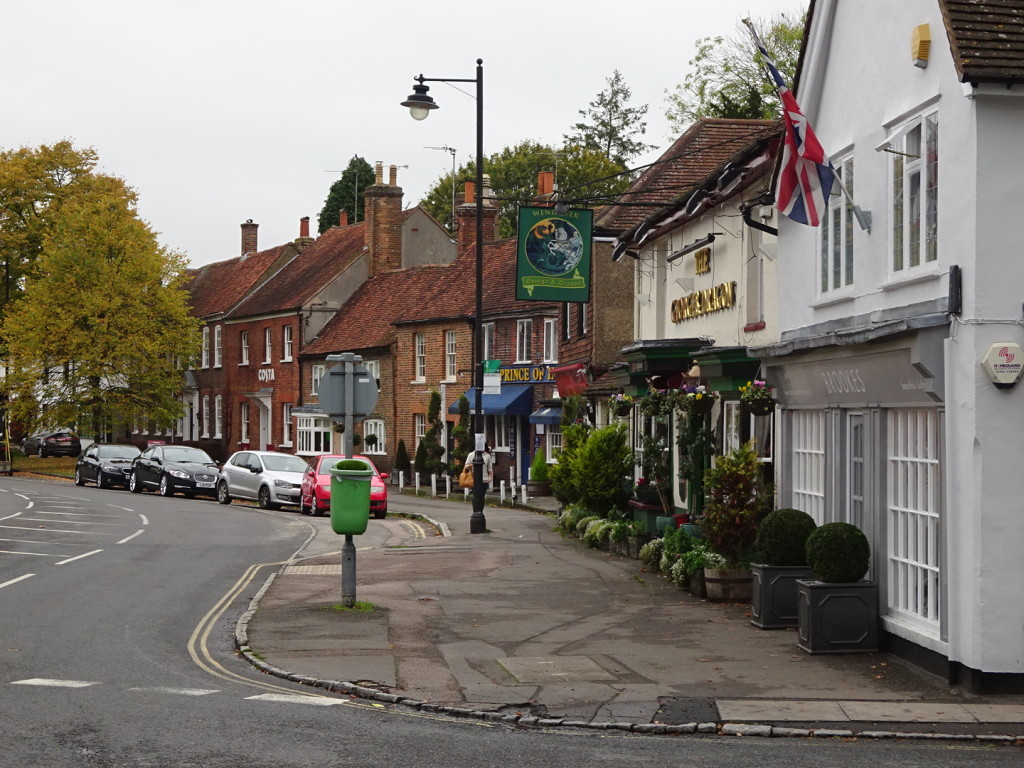 Charming Wendover is picture perfect.