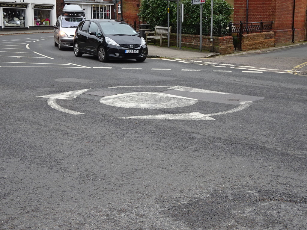 If you're a fan of roundabouts, then have we got the place for you! So nice that they have arrows directing you which way to go!