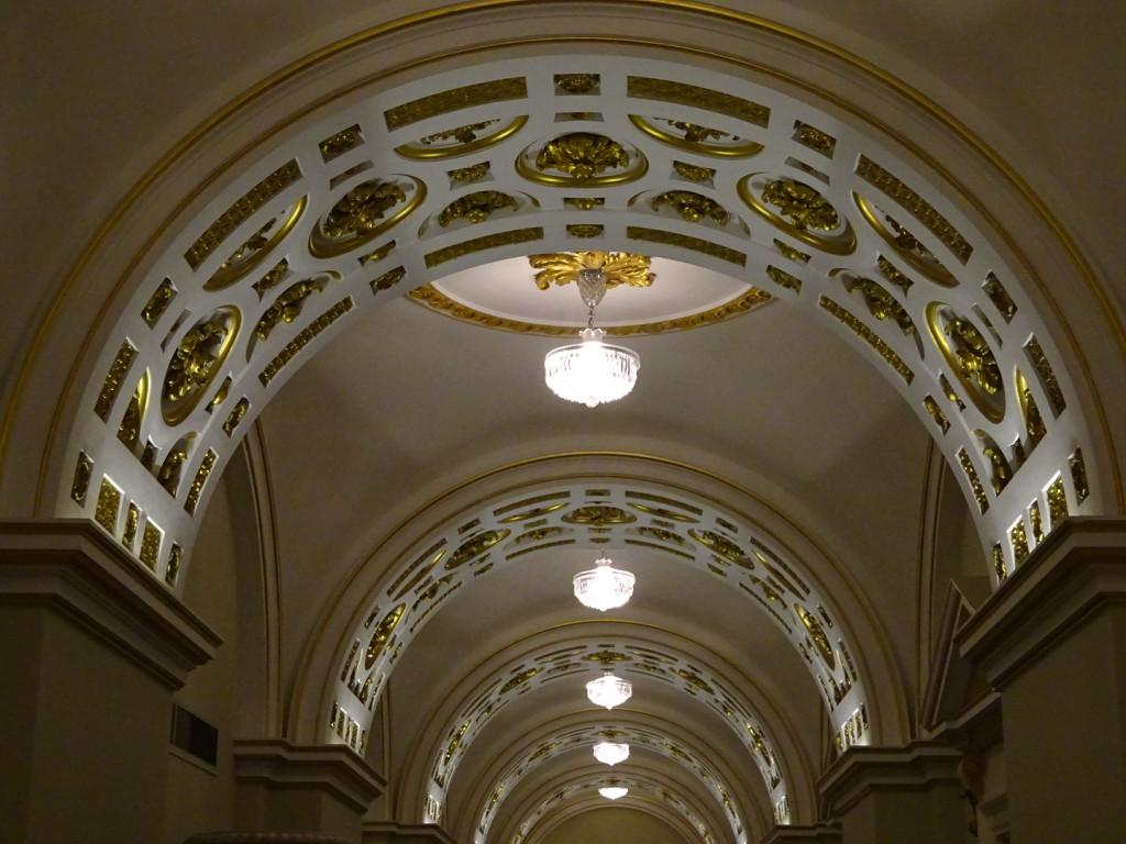 Hallway at Dublin Castle.