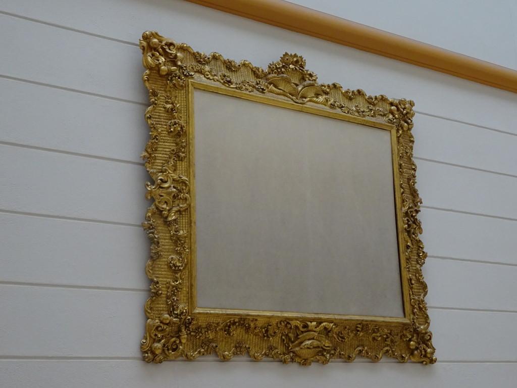 Mirrors make a room look bigger...