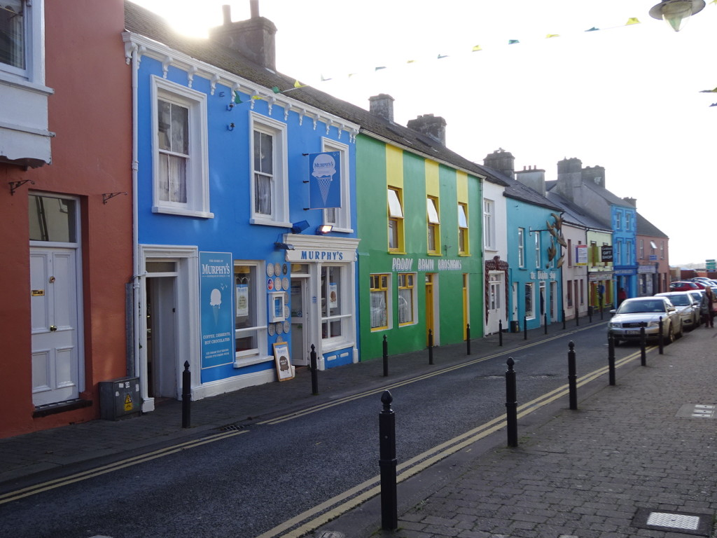 The town of Dingle. Super cute.