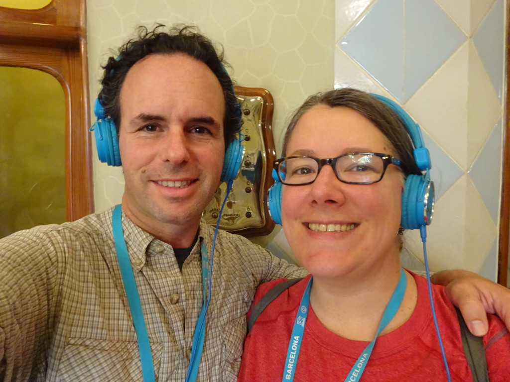 Sign up for the audio tour and you can rock these headsets too!
