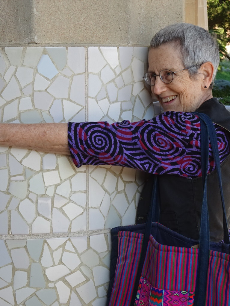 Everyone loves a mosaic! Aaron's mom shows us just how much.