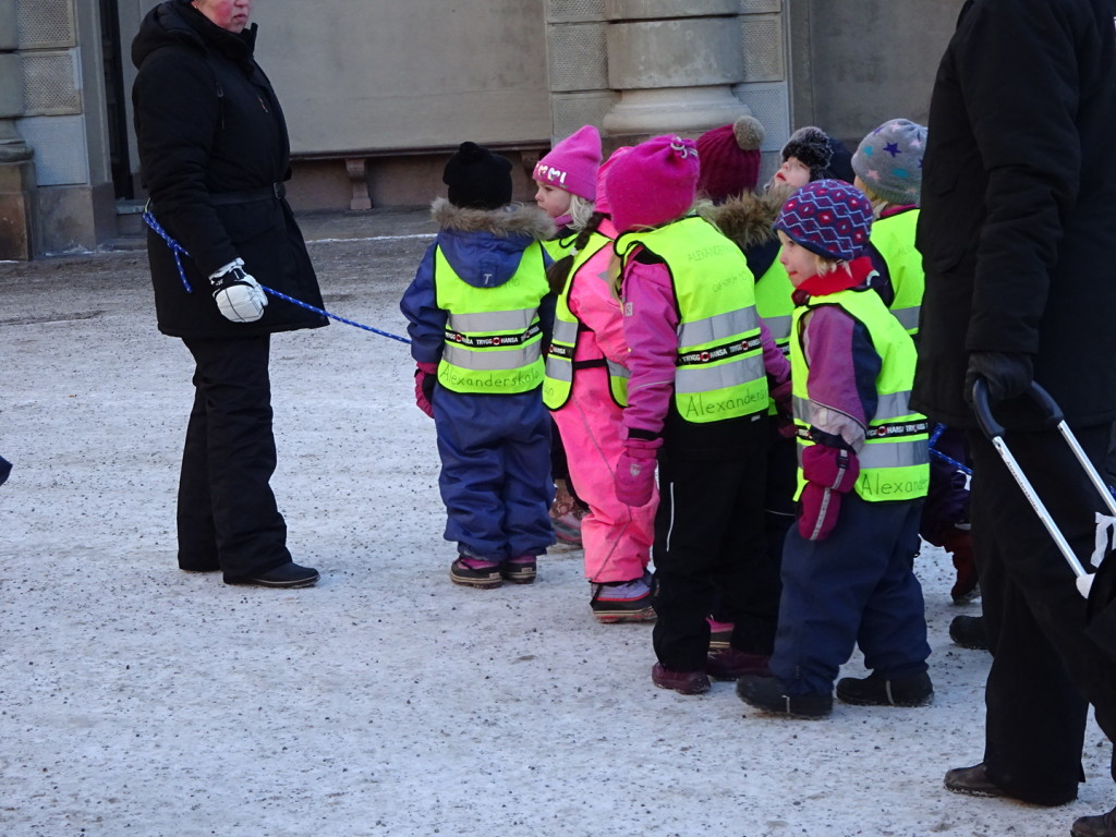 These chilly youngers were super patient and well behaved but the second they saw their teacher was ready to go so were they. It was too cold!