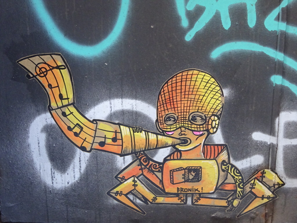 Sing out the praises of Barcelona Street Art!