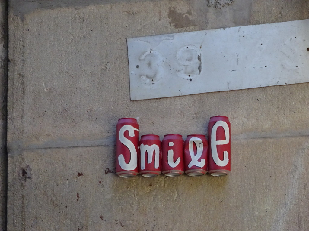 Smile - more street art posts are a-coming!
