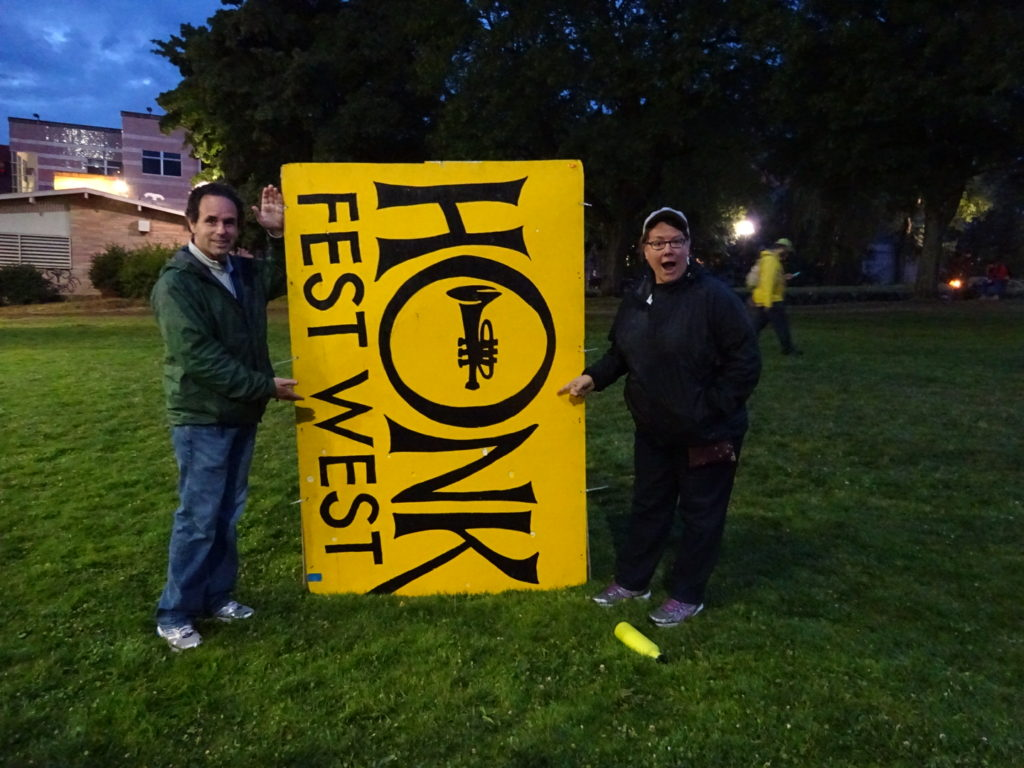 We made it home in time to catch HONK Fest 2016!