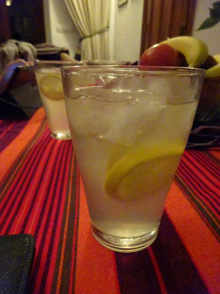 siiiiip. And cool off with fresh squeezed homemade lemonade. This place just doesn't stop!