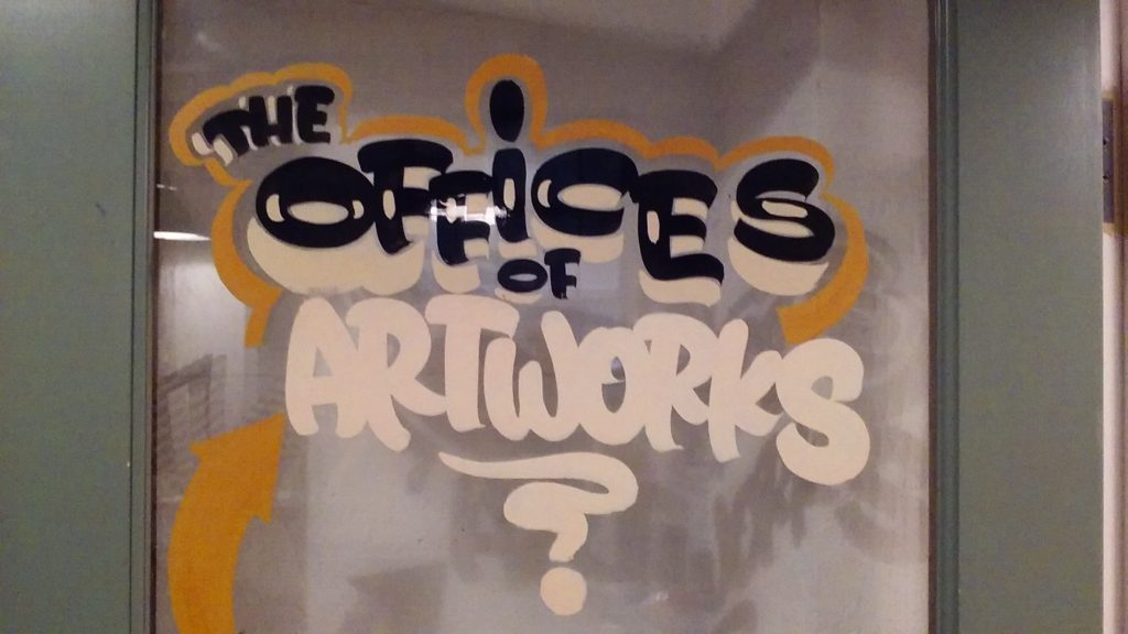 The offices of Urban Artworks.