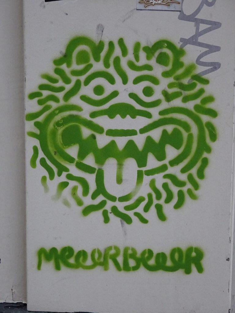 Eeek! A bear!