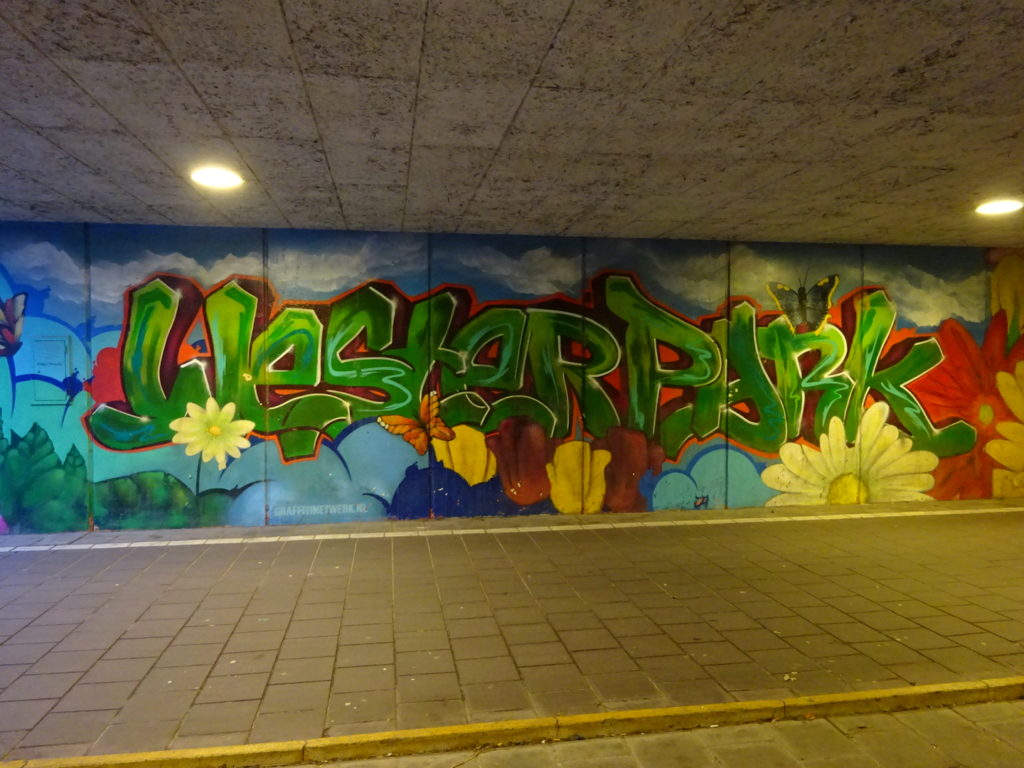 This was celebrating an underpass at the park which hosted Mercedes Benz Fashion Week!