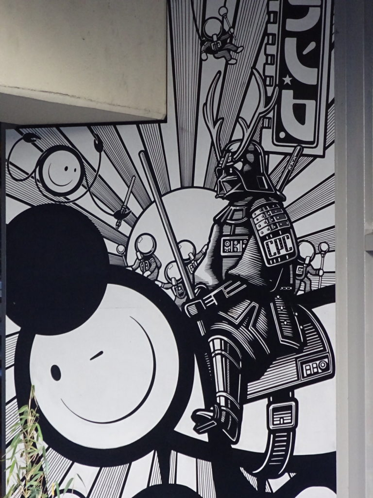 Darth Vader takes on a whole new look at Checkpoint Charlie's!