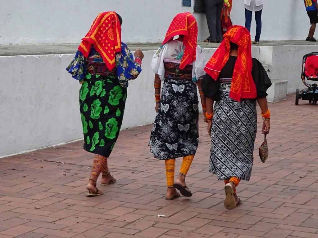 Women from the little market.
