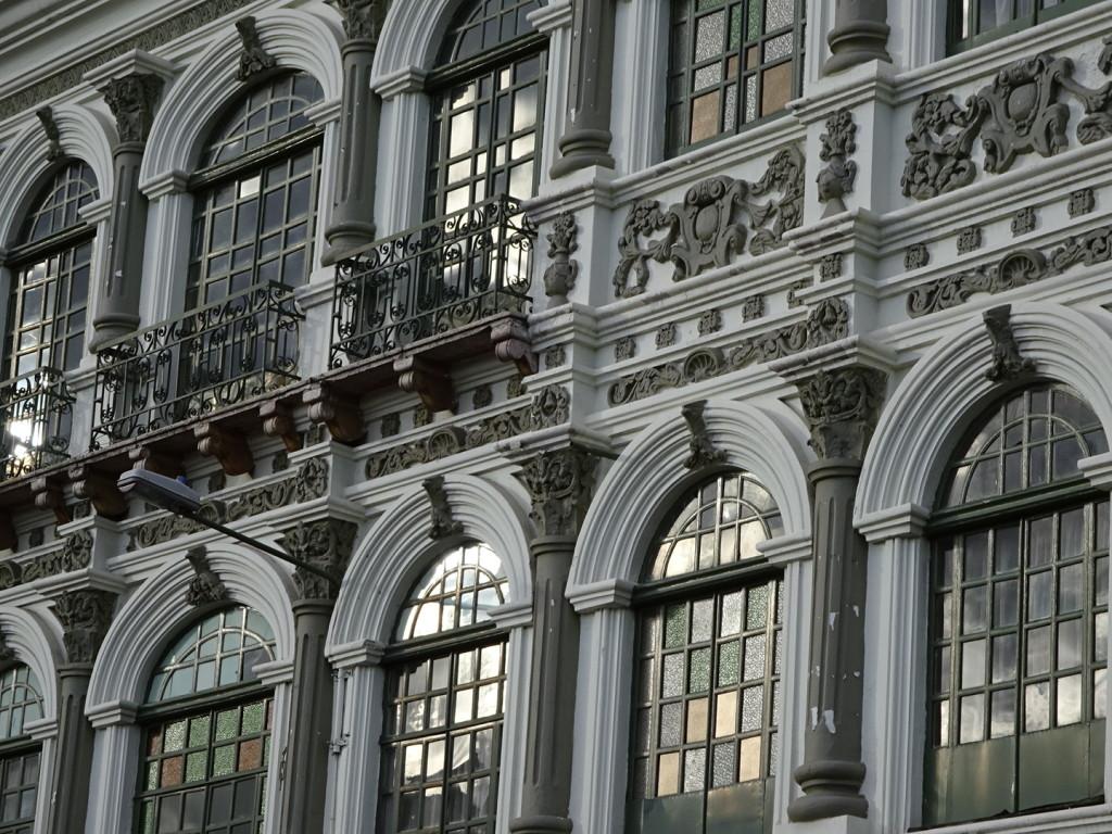 Crazy-ornate facades