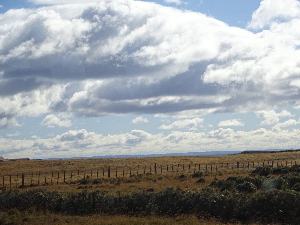 The drive to El Calafate
