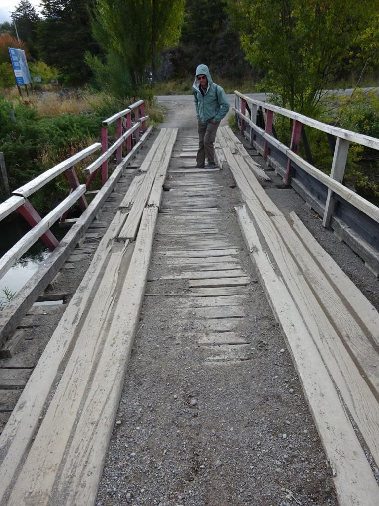 Don't fall through!!!  Love the bridges of South America