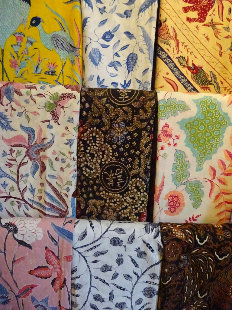 Fabulous hand-made Bali Batiks. These run in the hundreds of dollars. I wanted one really, REALLY bad but held off. If you ever go to Bali bring a batik budget with you.