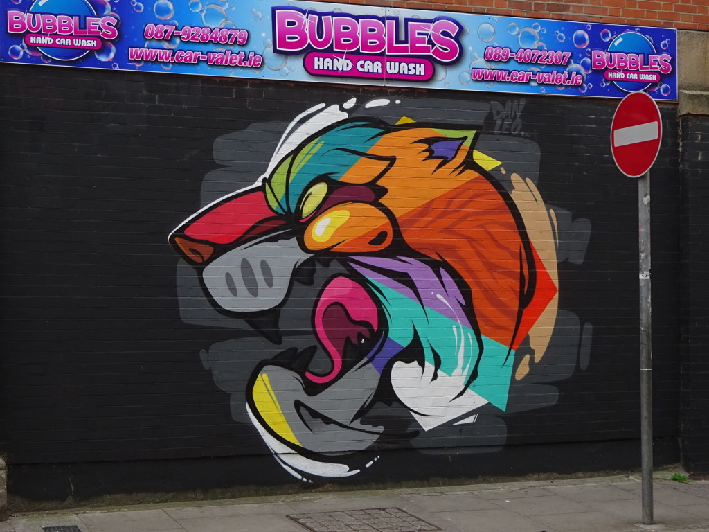 I'm not sure I'd name him Bubbles...