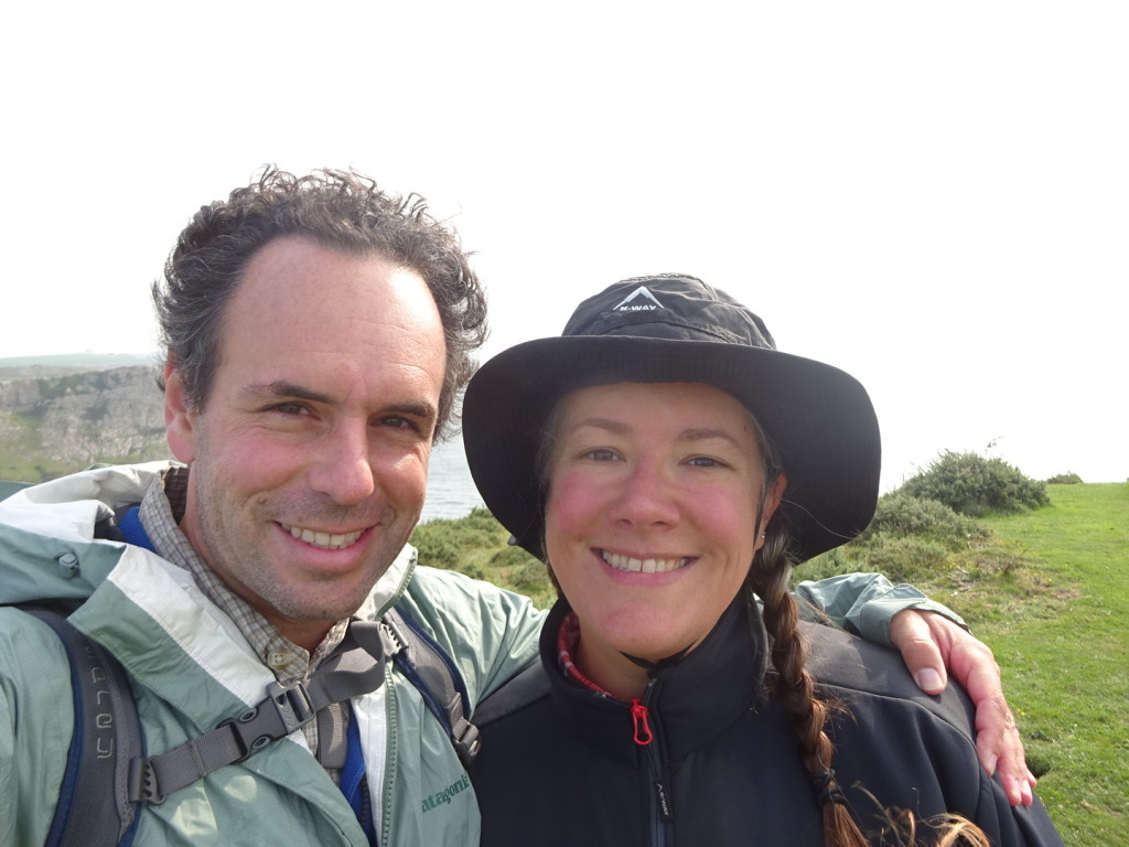 A couple of smiling faces out at The Gower.