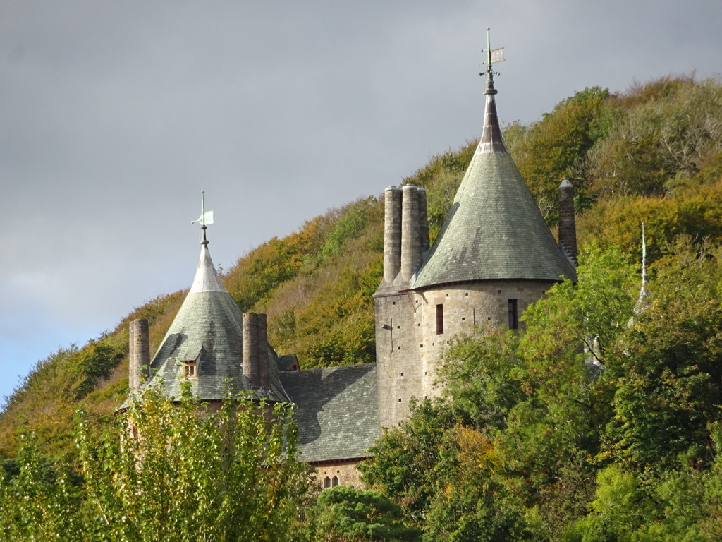 It wasn't just The Gower that was story-book. Seeing Castell Coch through the trees was magical!