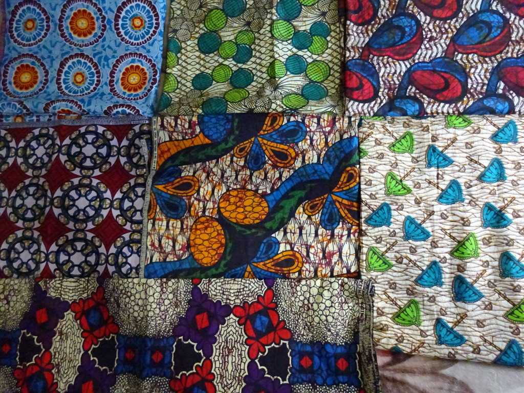 OH! The fabrics in Tanzania. Next to the animals, this is what I think of. Tanga, Tanzania.